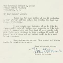 Letter : 1950 May 18