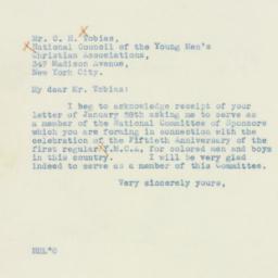 Letter : 1938 February 3