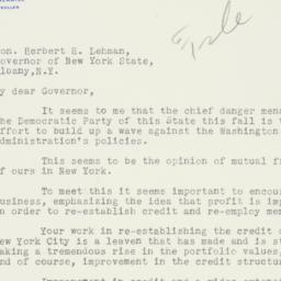 Letter : 1934 August 23