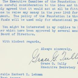 Letter : 1948 May 18