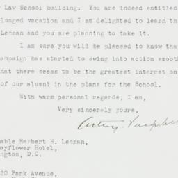 Letter : 1946 April 11
