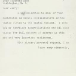 Letter : 1953 February 5