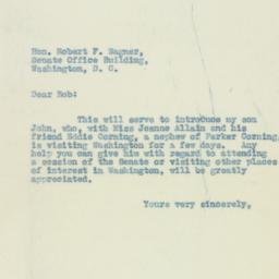 Letter : 1933 March 28