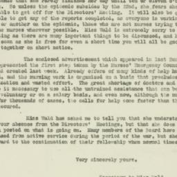 Letter: 1918 October 18