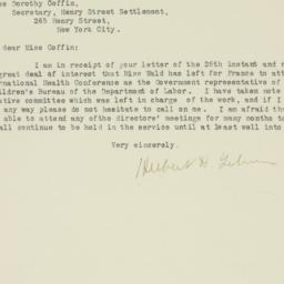 Letter : 1919 March 31