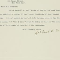 Letter : 1919 June 2