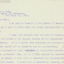Letter : 1919 December 5