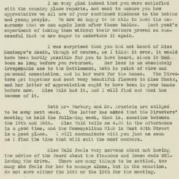 Letter : 1920 April 9