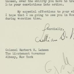 Letter : 1931 April 2