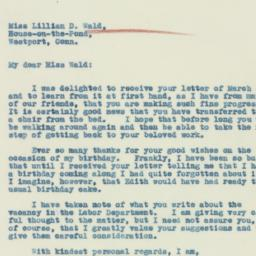 Letter : 1933 March 27