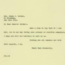 Letter : 1925 August 19