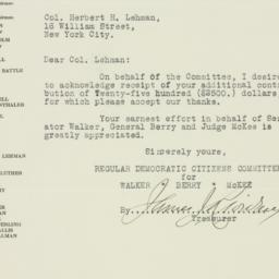Letter: 1925 September 23