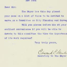 Letter : 1926 May 13