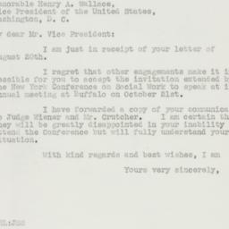 Letter : 1941 August 28