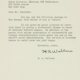 Letter : 1943 January 12