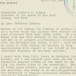 Letter : 1941 April 26