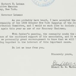 Letter : 1938 January 21