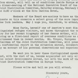 Letter : 1941 January 30