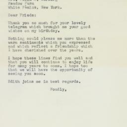 Letter : 1958 April 8