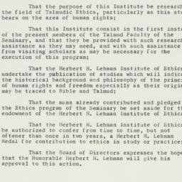 Administrative Record: 1958...