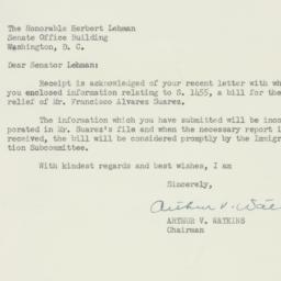 Letter : 1953 April 19