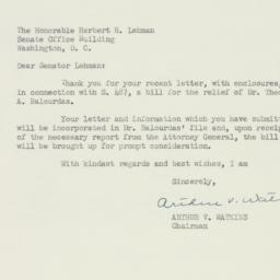 Letter : 1953 April 23