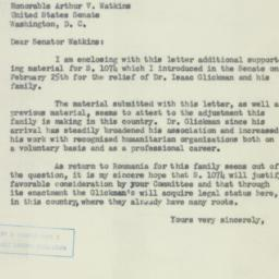 Letter : 1953 April 24