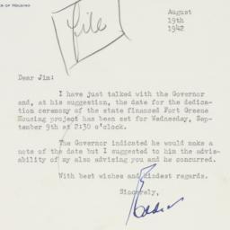 Letter : 1942 August 19