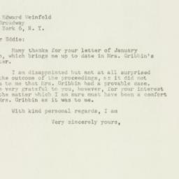 Letter : 1948 January 15