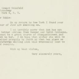 Letter : 1948 June 8