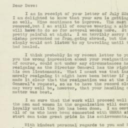 Letter : 1946 July 26