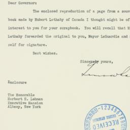 Letter: 1940 January 15