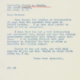 Letter: 1940 January 17