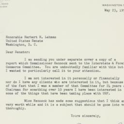 Letter : 1955 May 23
