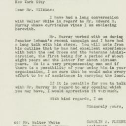 Letter : 1950 February 1