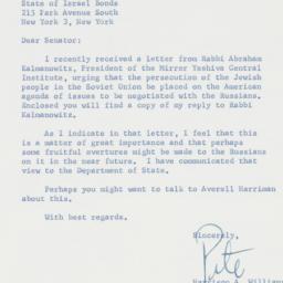 Letter : 1960 August 26