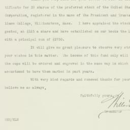 Letter : 1925 December 12