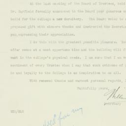Letter : 1926 June 24