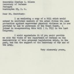 Letter : 1955 January 24
