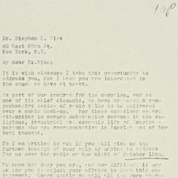 Letter : 1928 September 21