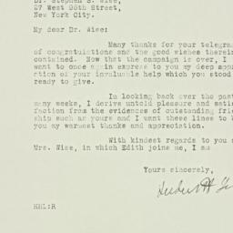 Letter : 1928 November 22