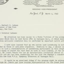 Letter : 1942 March 4