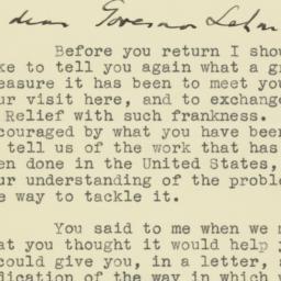 Letter : 1943 April 19