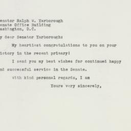 Letter : 1958 August 4
