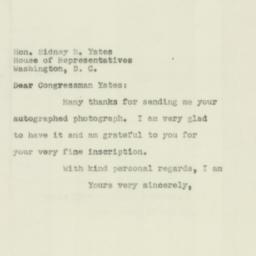 Letter : 1951 August 18
