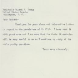 Letter : 1952 May 8