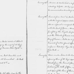 Document, 1785 January n.d.