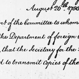 Document, 1788 August 26