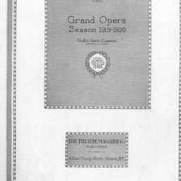 program, 10 March 1920