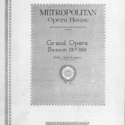 program, 3 January 1918